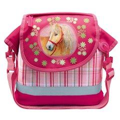 Gentuta roz pentru fetite Charming Horses, Amscan 551767, 1 buc