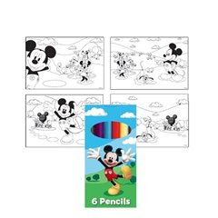 Mickey Mouse Coloring Set, Amscan 994160, 1 piece