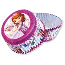 Disney Sofia the First Foil Cake Cases, Amscan 997169, Pack of 24 pieces