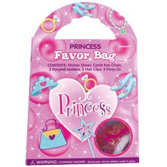 Favour Bag Princess Accesories, Amscan 349758, 1 Piece
