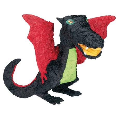 Pinata Dragon Negru, Amscan P12973, 1 buc