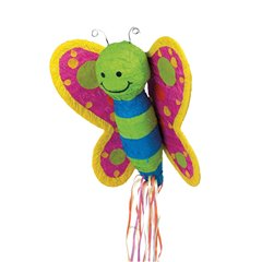 Butterfly Pull Pinata Amscan P39400, 1 Piece