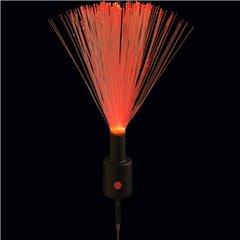 Fascicul luminos cu lumina rosie pentru decoratiuni, Qualatex 97742, Set 10 buc