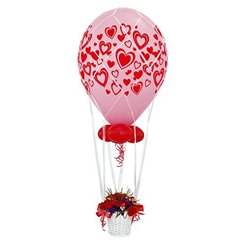 White Hot Air Balloon Nets for 60 cm Balloons, Radar 60643, 1 piece