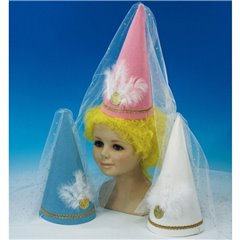 Princess Lilly Felt Hat Assorted, Amscan RM7598, 1 piece