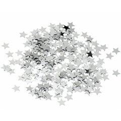 Silver Stars Party Confetti Bag, Radar SPC.F.SS