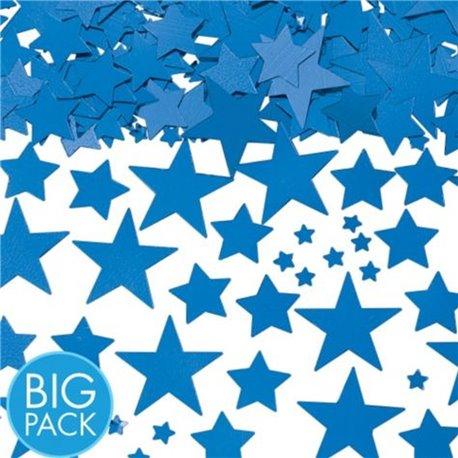 Confetti stelute albastre din hartie pentru party si evenimente, Radar SPC.P.BS