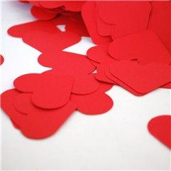 Red Hearts Paper Party Confetti, Radar SPC.P.RH