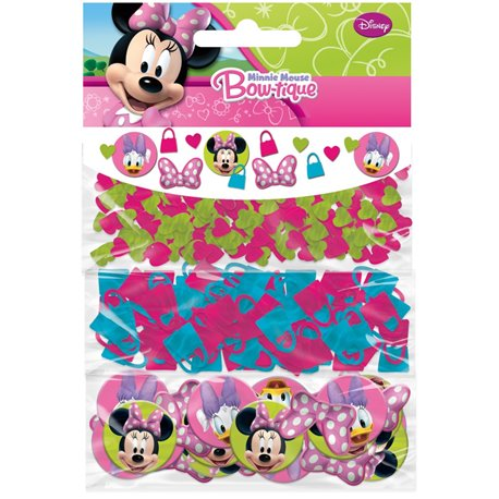 Confetti cu Minnie Mouse pentru party si evenimente, Amscan 996117, Punga 40g