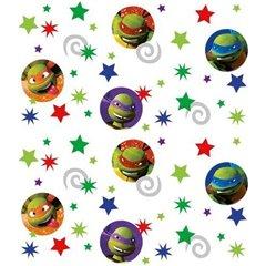 Confetti cu Testoasele Ninja pentru party si evenimente, Amscan 500244, Punga 34g