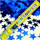 Blue Stars Confetti Shooter, 40 cm, Radar TUN.8240.BS, 1 piece