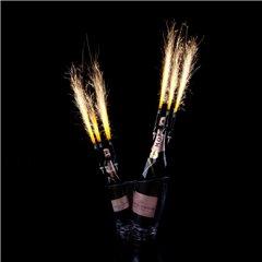 Artificii de tort cu suport pentru sticla 12 cm, Enigma Superstar E112, 1 buc