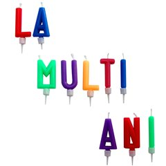 "Birthday Cake Candles - ""La multi ani!"", Radar SMFIT.LMA002"