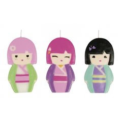 Kimmi Junior Figure Candle, Amscan RM552234, 1 Piece