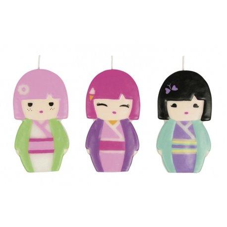 Lumanari aniversare pentru tort figurine Kimmi Junior, Amscan RM552234, 1 buc