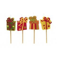 Lumanari aniversare pentru tort minifigurine cadou, Amscan RM551707, Set 8 buc