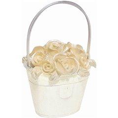 Suport cosulet cu flori pentru numar masa - 8.5 cm, Amscan 451023, 1 buc