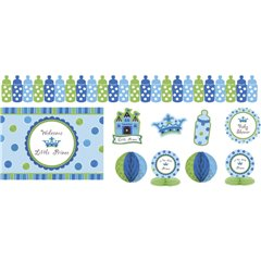 Decoratiuni pentru petrecere baietei - Little Prince, Amscan 249458, Set 10 buc