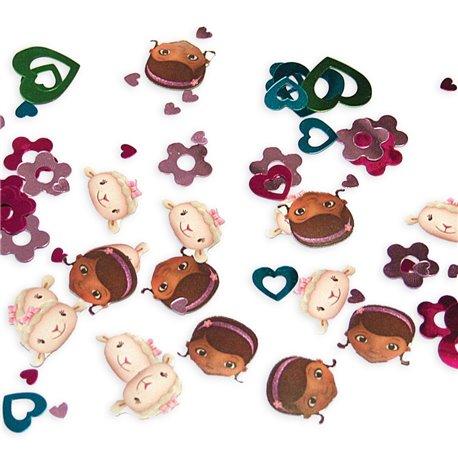 Confetti Doc McStuffins pentru party si evenimente, Amscan 996905, Set 3 pungi