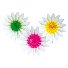 Flori din hartie pentru decor petreceri - 36 cm, Amscan 400234, 1 buc