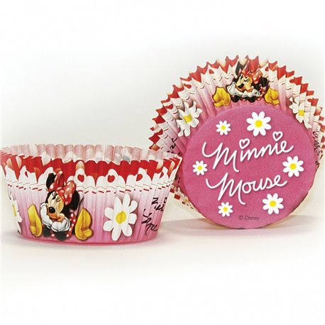 Minnie Mouse Cake Cases, Amscan 995248, Pack of 50 pieces