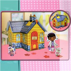 Doc McStuffins Clinic Table Decoration, Amscan 996906, 1 piece