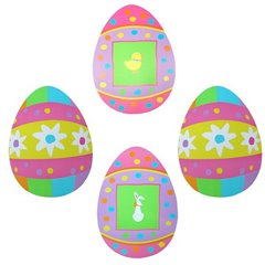 Easter Eggs Cutouts, Amscan 198705, Pack of 4 pieces