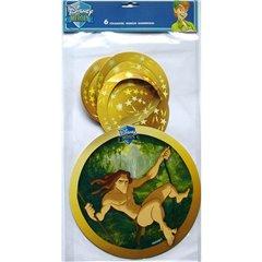Serpentine decorative Disney Heroes pentru petrecere, Radar IVC26722, Set 6 buc