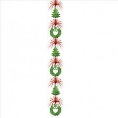 Ornament pentru decorare petreceri de Craciun, Amscan 247144, 1 buc