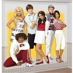 Scene Setters - High School Musical Wall Decoration, Amscan 679001, 1 piece
