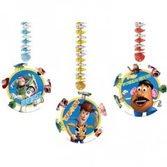 Toy Story Dangling Cutouts - 1.2m x 23cm, Amscan 993877, Pack of 3 pieces