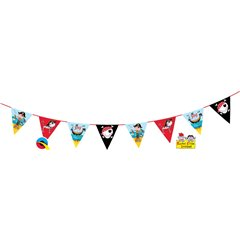 Pirate Party Garland - 3 m, Qualatex 12708, 1 piece