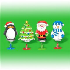 Christmas Party Pop Up Toys - 6.5cm, Amscan 390817, 1 piece