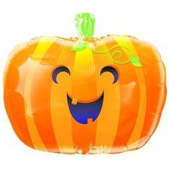 Balon Folie 45 cm Cute Pumpkin pentru Halloween, Amscan 11450