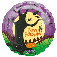 Balon Folie 45 cm Spooky Halloween, Amscan 12927