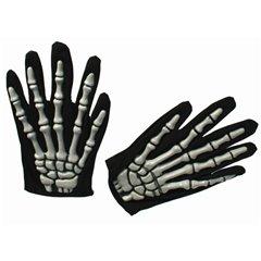 Halloween gloves with bones, OOTB 63/2658