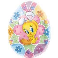 Easter Tweety Shape Foil Balloon - 58x69cm, Amscan 12187