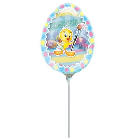 Balon Folie Mini-Figurina Tweety Egg Insider, Amscan 10728
