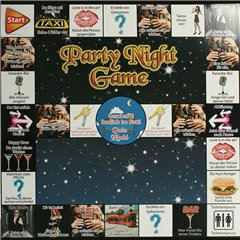 Party-Night drinking game with 5 boards, OOTB 79/3968, 1 piece