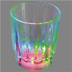 Pahar cu leduri multicolore, OOTB 750115, 1 buc