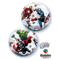 "Marvel's Avengers Assemble Bubble Balloon, Qualatex, 22"", 93052"