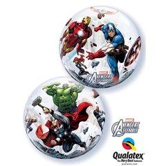 "Marvel's Avengers Assemble Bubble Balloon, Qualatex, 22"", 93052"