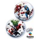 """Balon Bubble 22""""/56cm Qualatex, Marvel's Avengers Assemble, 93052"""