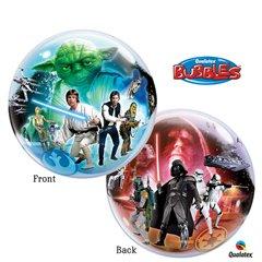"Star Wars Bubble Balloon - 22""/56cm, Qualatex 10474, 1 piece"
