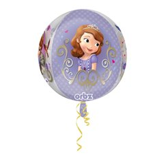 Balon Folie Orbz Sofia The First - 38x40cm, Amscan 29817