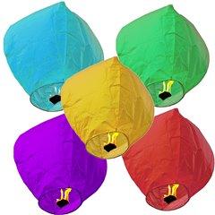 Lampioane zburatoare asortate pentru nunti, petreceri sau evenimente, Radar Luchy