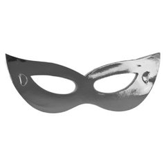 Silver Metallic Colors Masks, Radar SMFIT.MSA.ARGINTIU