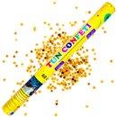 Tun de confeti 60 cm cu stelute aurii, Radar TUN.8260.GS, 1 buc