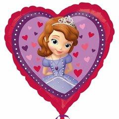 Balon folie inima Sofia - 45cm, Amscan 29840