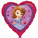 Sofia The First Love Heart Foil Balloon, Amscan,18'', 29840
